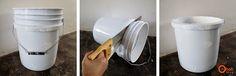Φτιάξτε ένα φανταστικό σκαμπώ απο πλαστικό κουβά!