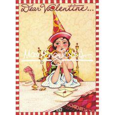 Valentine Magnet: Dear Valentine