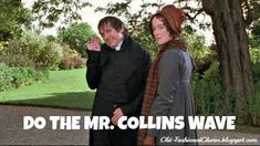 Darcy is a symbol of the ultimate hero, to most Jane Austen fans Mr. Collins is a mascot of buffoonery. Mr Collins, Jane Austen Books, Nerd, Mr Darcy, Monologues, I Love To Laugh, Pride And Prejudice, Period Dramas, Love Story