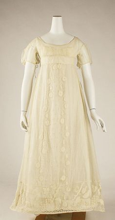 Dress 1810 The Metropolitan Museum of Art
