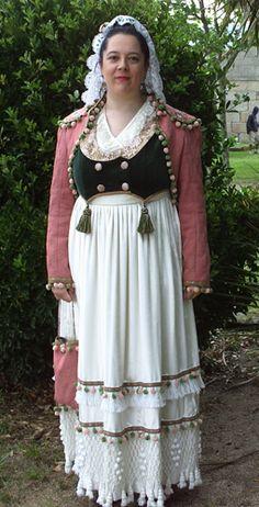 Traje Goyesco / Spanish Regency Dress (Ca. 1809)