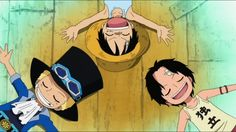 They're so cute ☺️. ASL, Ace, Sabo & Luffy, One Piece
