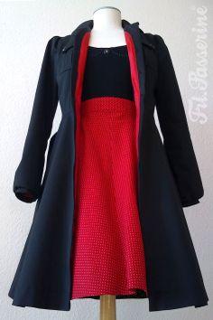 fashion design, vegan styling, costume design, corporate design, interior design - clothing with love ? Taylormade, Corporate Design, Costume Design, Costumes, Blazer, Vegan, Coat, Red, Jackets