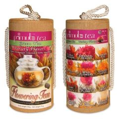 Amazon.com: Primula TMV-2012 Flowering Green-Tea 12-Count Variety Pack with Gift Canister: Kitchen & Dining