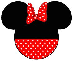 Free Minnie Mouse Clip Art for t-shirts for our VACATION!!!