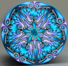 Hey, I found this really awesome Etsy listing at https://www.etsy.com/listing/229136712/teal-blue-and-purple-polymer-clay