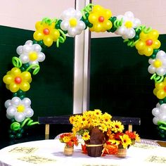 Balloon Flowers, Balloon Arch, Balloons, Easter Hunt, Balloon Decorations, Fundraising, Flower Arrangements, Birthdays, Parties