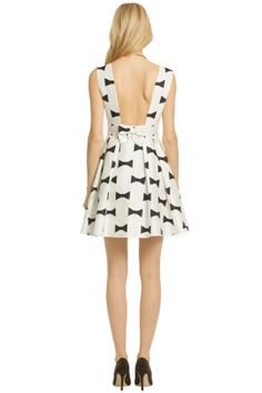 kate spade dresses - BLACK BOW