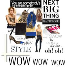 Styleidea ...LETSWOW  by esmara with Heidi Klum