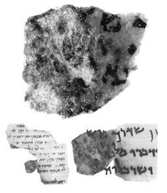 Part of the Dead Sea Scroll