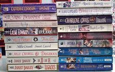 lot of 18 historical romance novels; Christina Dodd, Catherine Coulter & more