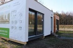 výstavní dům CORINNE 41m² - SLEVA 205.574,-   hobbytec.cz Shed, Outdoor Structures, Barns, Sheds