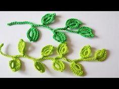 Как связать веточку крючком.How to tie a twig hook. - YouTube