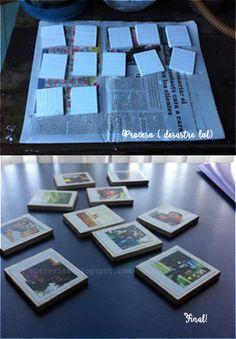 Sue Sveiss: DIY Polaroid Photo Frame.