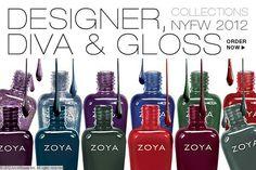 New: Designer & Diva Zoya Polishes (Fall Collection) #Zoya #NoirSalonSpa
