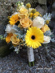 Furst Florist bridal bouquet