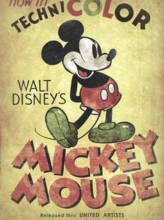 Vintage Mickey Mouse ~ Memories of Florida