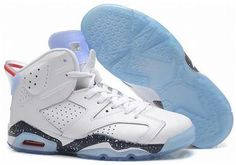big sale 2cf90 54ccc Buy Where To Buy Nike Air Jordan Vi 6 Retro Mens Shoes White New Blue from  Reliable Where To Buy Nike Air Jordan Vi 6 Retro Mens Shoes White New Blue  ...