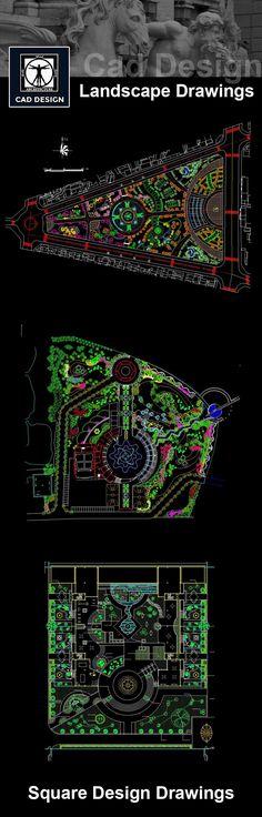 Landscape design masterplan autocad 17 Ideas for 2019 Landscape Design Plans, Landscape Architecture Design, Urban Landscape, Architecture Details, Residential Architecture, Drawing Architecture, Architecture Diagrams, Landscape Architects, Architecture Plan