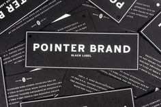 Pointer Brand : The Studio of Dan Blackman