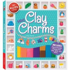 Klutz Clay Charms Book Kit -