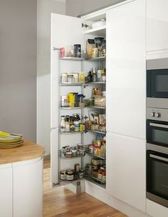 Explore on-trend kitchens at Howdens. Find a kitchen for any style and decor. Free design service available. New Kitchen, Kitchen Ideas, Howdens Kitchens, Larder Unit, News Space, Kitchen Collection, French Door Refrigerator, Kitchen Appliances, Design Inspiration