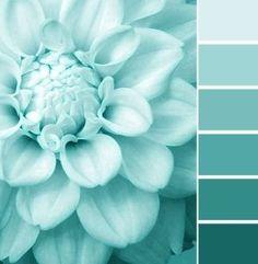 Turquoise color schemes flowers, shades of turquoise и turqu Color Schemes Colour Palettes, Monochromatic Color Scheme, Colour Pallette, Turquoise Color Palettes, Seafoam Color, Aqua Blue, Purple, Bedroom Paint Colors, Bedroom Color Schemes