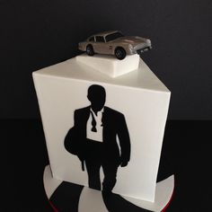 Cake For A James Bond Fan Modeling Chocolate Car