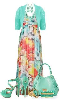 Plus Size Maxi Dresses For Spring-Summer 2015 (11)