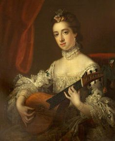 Mrs Anne Hoare (1737–1759) (after Francis Cotes) by Samuel Woodforde c. 1875/6 - Pinterest