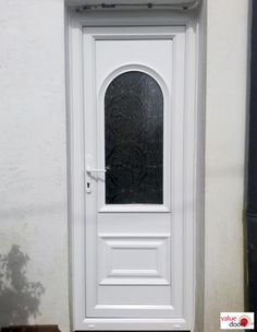 Installing Front Doors UK wide, our external door fitters specialise in installing double-glazed Front Doors from our white & coloured uPVC Doors. Coloured Upvc Doors, Doors Online, Composite Door, External Doors, White Doors, Back Doors, Home Decor, Decoration Home, Exterior Doors