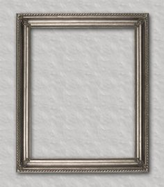 Silver with Swirl Trim Readymade frame ready for your favorite family portrait, art or mirror.