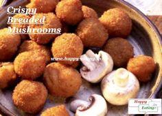 Crispy breaded mushrooms, just like at blue lep