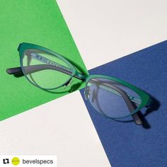 """We love this shot of the irrepressible """"Marie"""" from the Innovators & Inventors Collection...  .  #bevelspecs #independent #eyewear #bevel #glasses #optician #optometry #original #madeinjapan #acetate #titanium #fashion #style #design"""