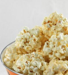Oooey-Gooey Popcorn Balls... Try these popcorn balls for a fun finger-food dessert. Take them to a party or make them for a movie night in with the kids..