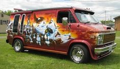 All your dreams can become reality on the side of a van. | 22 Sweet Airbrushed Vans You Want To Take On Tour Right Now