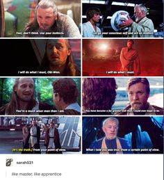Like Master, like Apprentice
