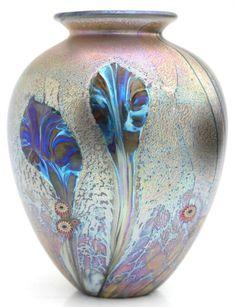 Jonathan Harris   Eden Amphora Vase, Petrol