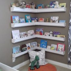 Bookshelves for childrens room