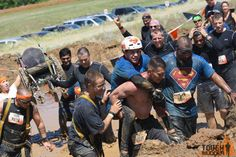 5 Mud Run Photos that Will Restore Your Faith in Humanity Fly Fishing Lessons, Visit Yellowstone, Mud Run, Tough Mudder, Whitewater Rafting, Three Rivers, Faith In Humanity, Horseback Riding, Kayaking