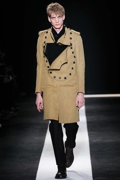 Ann Demeulemeester Fall 2015 Menswear - Collection - Gallery - Style.com