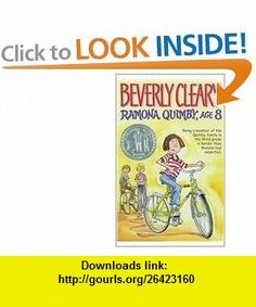 Ramona Quimby, Age 8 (Avon Camelot ) (9780812401196) Beverly Cleary, Alan Tiegreen , ISBN-10: 0812401190  , ISBN-13: 978-0812401196 ,  , tutorials , pdf , ebook , torrent , downloads , rapidshare , filesonic , hotfile , megaupload , fileserve