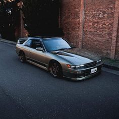 S13 Nissan Silvia. Support the page by picking up some gear at JDMUnderground.com Japanese Sports Cars, Japanese Cars, Tuner Cars, Jdm Cars, Corolla Toyota, Ford Mustang Car, Ford Shelby, Ford Mustangs, S13 Silvia