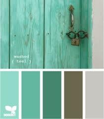 Master bedroom colors? the walls are already the brown. Color Scheme....love these colors together