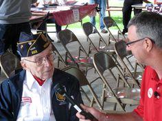 Medina County veterans get salute at this year's county fair. Ralph Waite.