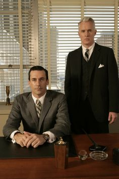 Classy suits from Mad Men - #madmen #suits