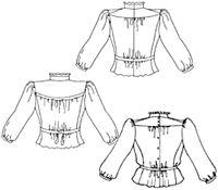 Amazon Drygoods - Gibson Girl Blouse, $16.95 (http://www.amazondrygoods.com/products/gibson-girl-blouse.html)
