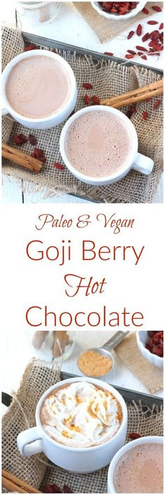Goji Berry Hot Chocolate
