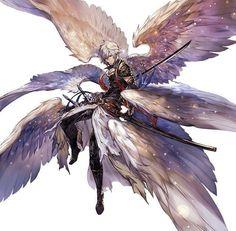 Lucifer (Shingeki no Bahamut) Image - Zerochan Anime Image Board Manga Art, Manga Anime, Anime Art, Anime Angel, Anime Style, Anime Body, Anime Pokemon, Bd Art, Shingeki No Bahamut