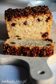 Cake with millet and apples, without eggs and milk Lactose Free, Gluten Free, Sugar Free, Banana Bread, Vegan Recipes, Food And Drink, Tasty, Sweets, Baking